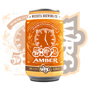 wbc_5-02amber_can-5:02 Amber-Craft Beers-Brew Pub-Wichita Brewing Company