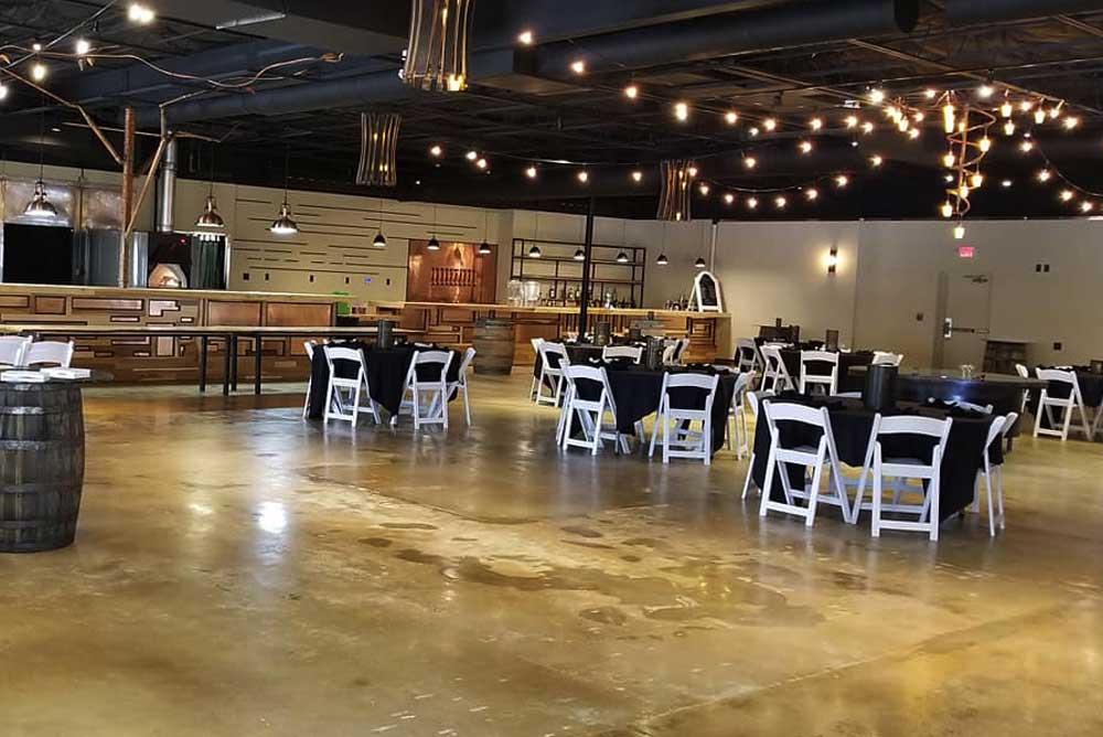 Wichita Event Venue Interior